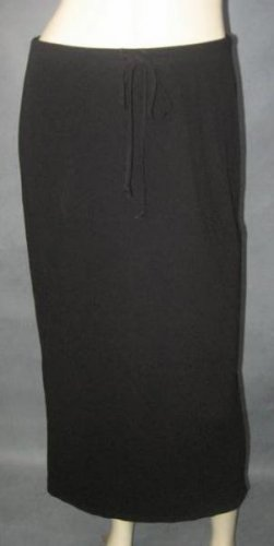 GAP long black SKIRT size medium