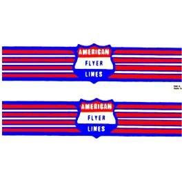 AMERICAN FLYER GILBERT HANDCAR w/WINGS STICKERS