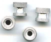 2 AMERICAN FLYER TRAINS GILBERT 4/40 KNURL NUTS
