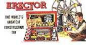 AMERICAN FLYER GILBERT ERECTOR BILLBOARD INSERT