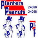 PLANTERS PEANUT DECALS for AMERICAN FLYER TRAINS GILBERT