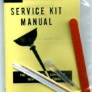 UNIVERSAL MOTOR CLEANING KIT for AMERICAN FLYER TRAINS GILBERT