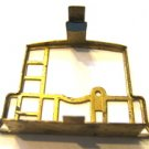 2 BRASS CABOOSE END RAILS for AMERICAN FLYER TRAINS GILBERT