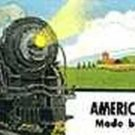 STEAM BILLBOARD STICKER for AMERICAN FLYER TRAINS GILBERT