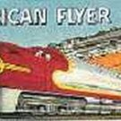 SANTA FE/STEAM BILLBOARD INSERT for AMERICAN FLYER TRAINS GILBERT