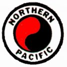 NORTHERN PACIFIC REEFER CAR STICKERS for AMERICAN FLYER TRAINS GILBERT