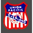 UNION PACIFIC F9 NOSE STICKER for AMERICAN FLYER TRAINS GILBERT