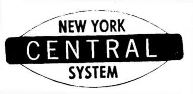 HO NEW YORK CENTRAL STICKERS for AMERICAN FLYER TRAINS GILBERT