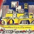 DIME STORE Window Insert for Plasticville O & S Gauge Scale Buildings PL104