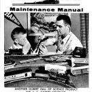 AMERICAN FLYER M4869 MAINTENANCE MANUAL SHEET TRAINS - Copy