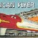 SANTA FE STEAM ENGINE WHISTLING BILLBOARD FACE INSERT for American Flyer Trains