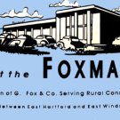 FOXMART WHISTLING BILLBOARD INSERT for American Flyer S Gauge Scale Trains