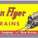 SET BOX LABEL WO5016 ADHESIVE STICKER for American Flyer S Gauge Trains