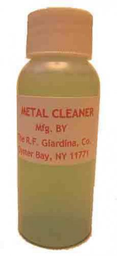 METAL CLEANER LIQUID for G Gauge Scale Trains