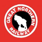 GREAT NORTHERN 24047 BOX CAR ADHESIVE STICKER for American Flyer S Gauge Trains