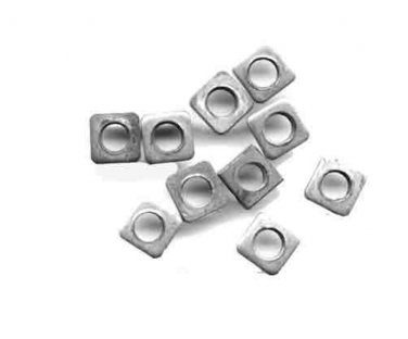 10 N11 Square Nut Original for GILBERT ERECTOR Set