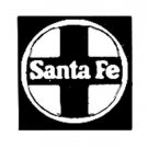 SANTA FE CROSS DIESEL ADHESIVE STICKER for American Flyer S Gauge Scale Trains