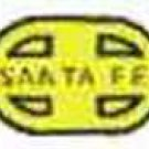 SANTA FE ALCO DIESEL NOSE WATER SETTING DECAL for American Flyer S Gauge Trains
