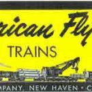 SET BOX LABEL M3117 ADHESIVE STICKER for American Flyer S Gauge Trains