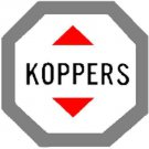 KOPPERS TANK CAR ADHESIVE STICKER for American Flyer S Gauge Scale Trains