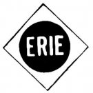 ERIE BOX CAR SELF ADHESIVE STICKER for American Flyer S Gauge Scale Trains