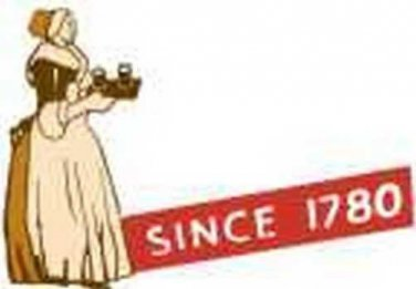 BAKERS CHOCOLATE LADY ADHESIVE STICKER for American Flyer S Gauge Scale Trains