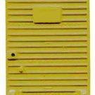 Yellow BOX CAR DOOR for AMERICAN FLYER  S Gauge Scale TRAINS