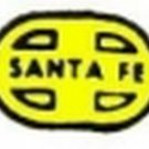 SANTA FE F9 DIESEL NOSE SELF ADHESIVE STICKER for American Flyer S Gauge Trains