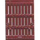 Red STOCK CAR DOOR for American Flyer S Gauge Scale Trains