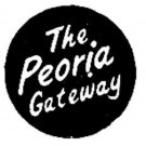 MsT&L PEORIA BOX CAR ADHESIVE STICKER for American Flyer S Gauge Scale Trains