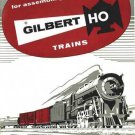 1957 INSTRUCTION MANUAL for GILBERT HO /AMERICAN FLYER TRAINS reprint