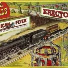 FUN & THRILLS BILLBOARD ADHESIVE BACK-for AMERICAN FLYER Train