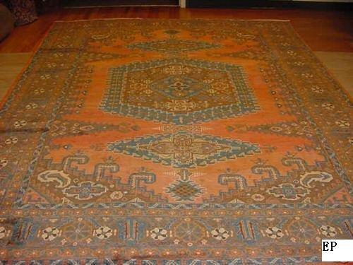 SUPER ANTIQUE(VIS) PERSIAN(SERAPI)HERIZ(KAZAK)8x11 EP13