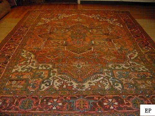 SUPER ANTIQUE PERSIAN(SERAPI)HERIZ(KAZAK)9x12 EP16