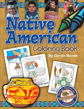 Native American Heritage Coloring Book