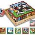 Wooden Farm Cube Puzzle