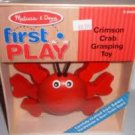 Crimson Crab Grasping Toy