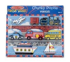 Chunky Puzzle Vehicles