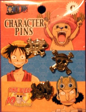 One Piece Character Pins