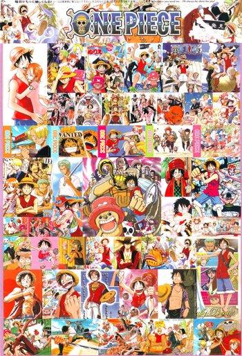 One Piece Stickers #2 + 3