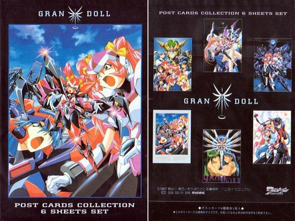 Gran Doll Postcards