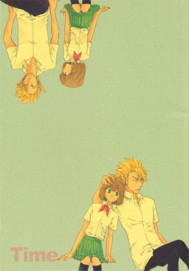 Eyeshield 21 Doujinshi: Time (HiruMamo)