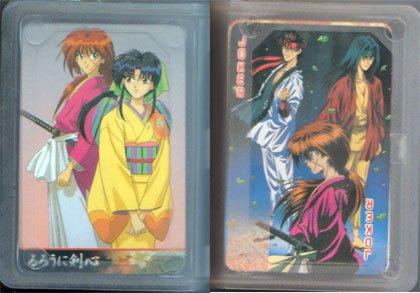 Rurouni Kenshin Playing Cards