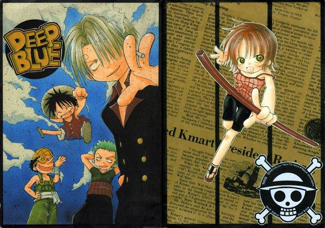 One Piece Doujinshi - Deep Blue