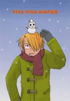 One Piece Doujinshi - Viva Viva Winter