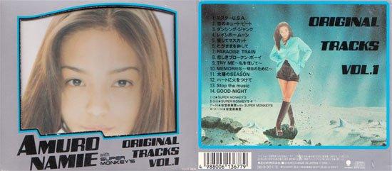 Amuro Namie CD Original Tracks Vol.1