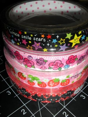 Kawaii Deco Tape - Value 4-Pack #1