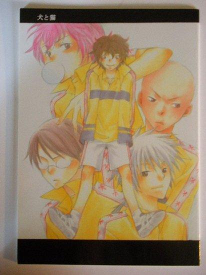 [078] Prince of Tennis Doujinshi Yaoi, Rikkai All Character