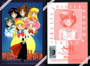 Official Sailor Moon R Laminated Card #08