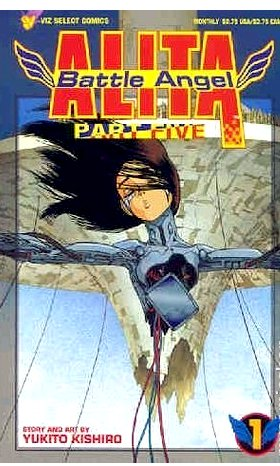 Battle Angel Part 5 #1-3, 5-7 (Set)